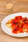 Patatas bravas Royalty Free Stock Photo
