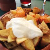 Patatas Bravas Photo stock
