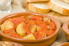 Patatas Bravas Royalty Free Stock Photo