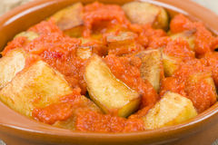 Patatas Bravas Royalty Free Stock Photos