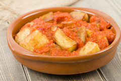 Patatas Bravas Stock Photo