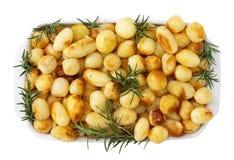 Patatas cocidas al horno Fotografía de archivo libre de regalías