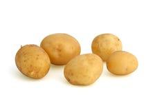 Patatas con la piel Imagen de archivo libre de regalías