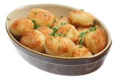 Patatas de la carne asada Foto de archivo
