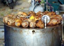 Patatas dulces cocidas Imágenes de archivo libres de regalías