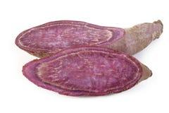 Patatas dulces púrpuras Fotografía de archivo libre de regalías