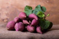 Patatas dulces rosadas Imagenes de archivo