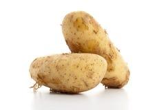 Patatas frescas del suelo de la arena Fotografía de archivo