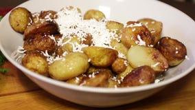 Patatas fritas almacen de video