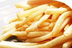 Patatas fritas Imágenes de archivo libres de regalías