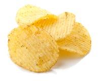 Patatas fritas con la especia Fotografía de archivo libre de regalías