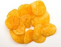 Patatas fritas con paprika fotos de archivo libres de regalías