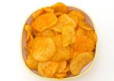 Patatas fritas con paprika foto de archivo