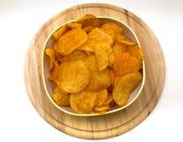 Patatas fritas con paprika foto de archivo libre de regalías