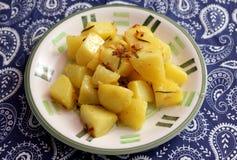 Patatas fritas con romero imagen de archivo libre de regalías