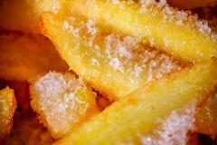 Patatas fritas congeladas Fotografía de archivo