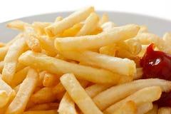 Patatas fritas curruscantes Fotos de archivo libres de regalías