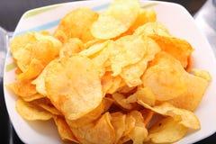 Patatas fritas de Goldy fotografía de archivo