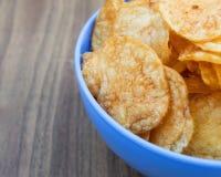 Patatas fritas del fondo Fotografía de archivo