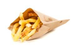 Patatas fritas deliciosas Foto de archivo libre de regalías