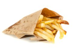 Patatas fritas deliciosas Fotos de archivo