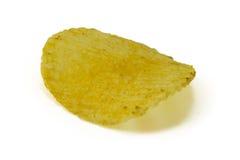 Patatas fritas en el fondo blanco Fotos de archivo libres de regalías