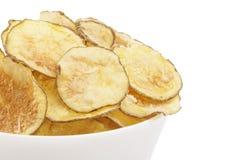 Patatas fritas hechas en casa Imágenes de archivo libres de regalías