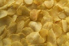 patatas fritas para el fondo fotos de archivo