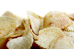 Patatas fritas saladas Imágenes de archivo libres de regalías
