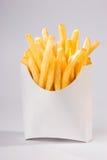 Patatas fritas (tiro lleno) Foto de archivo