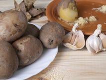 Patatas hervidas imagen de archivo libre de regalías