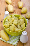 Patatas hervidas Fotografía de archivo