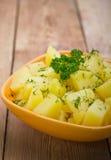 Patatas hervidas Fotos de archivo libres de regalías