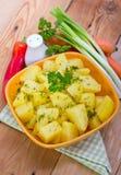 Patatas hervidas Foto de archivo libre de regalías