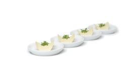 Patatas a la inglesa de patata con las hierbas Imagen de archivo