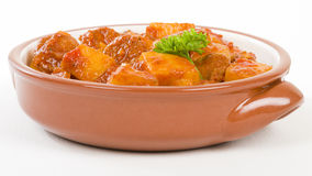 Patatas a la Riojana Royalty Free Stock Photos