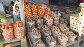 Patatas orgánicas Fotografía de archivo