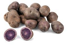 Patatas púrpuras Imagen de archivo