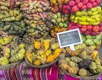 Patatas peruanas Imagen de archivo libre de regalías