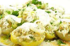 Patatas rellenas Imagenes de archivo