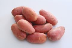 Patatas rojas Fotografía de archivo libre de regalías