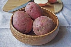 Patatas rojas fotografía de archivo