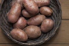 Patatas rojas Imagen de archivo libre de regalías