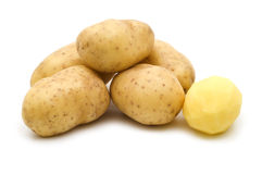 Patatas sin procesar Foto de archivo