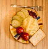 Patatas trituradas Fotografía de archivo libre de regalías