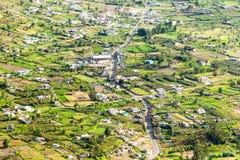 Patate县在厄瓜多尔 库存照片