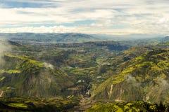 Patate谷在厄瓜多尔 免版税库存图片