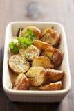 Patate al forno Immagini Stock