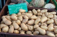 Patate al mercato alsaziano Immagini Stock Libere da Diritti