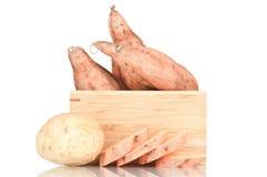 Patate dolci Fotografia Stock Libera da Diritti